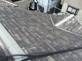 こだわりの「本質主義」株式会社日工屋根塗装着工前