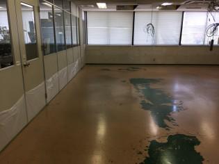 堺市西区 塗り床改修
