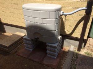 大和郡山市 雨水タンク新設