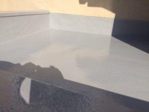 羽曳野市 玄関屋根FRP防水